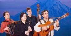 The AZAD Klezmer Quartet
