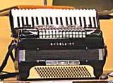 """Jack Emblow's """"Art van Damme"""" accordion"""
