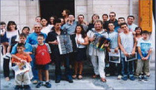 International Mediterraneon-Europe accordion contest , Italy