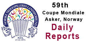 59th Coupe Mondiale Daily Reports