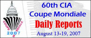 Coupe Mondiale 2007 Daily Reports