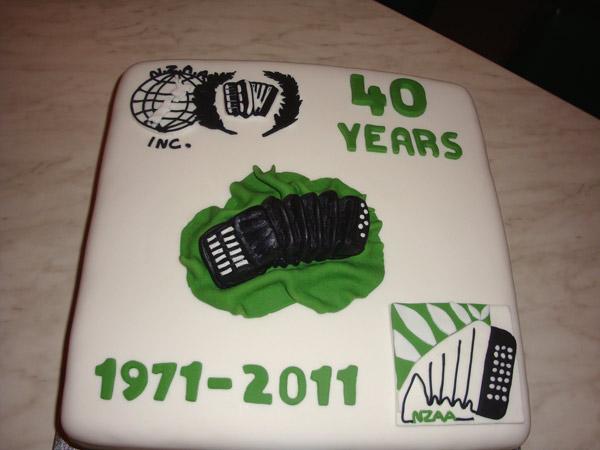 NZAA 40th Birthday Cake