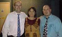 Gary Blair avec Sheila Miller Bowler et Roberto Enzo