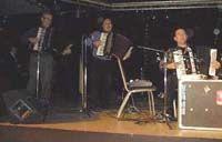 L'ensemble de Gary Blair avec Roberto Enzo et Giancarlo Caporelli