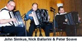 John Simkus, Nick Ballarini & Peter Soave