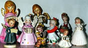Accordion figurines