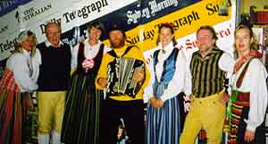 Swedish Accordionists in Australia