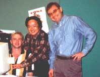 Wayne Knights, Li Cong, Harley Jones