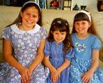 Kristinia, Olivia and Stephanie Panzic