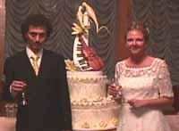 Paolo Picchio and Bride Silena Cingolani Capomagi
