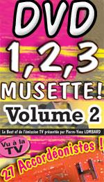 1,2,3 Musette Volume 2 DVD