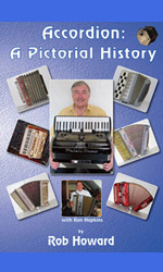 John Bonica Book, Accordion: A Pictorial History Book by Rob Howard,  Jacques Mornet Book,