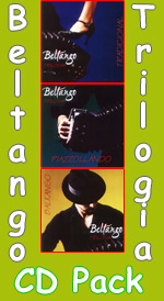 Beltango Trilogy 3 CD Pack