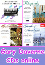 Gary Daverne eSheet music and CD's