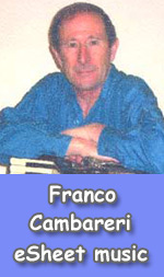 Frank Cambareri music and CD's
