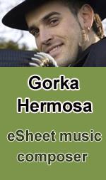 Gorka Hermosa, Karen Fremar, James O'Brien, Sebastiano Cali eSheet music