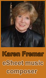 Karen Fremar, James O'Brien, Sebastiano Cali eSheet music