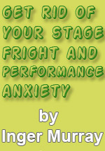 New Friedrich Lips book, Get rid of your stage fright, 10 Approaches to Improvisation, Book (text) banners,