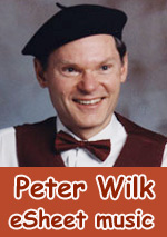 Peter Wilk eSheet music