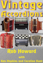 Vintage Accordions Book by Rob Howard