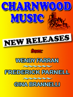 New releases from Wendy Farran, Frederick Parnell and Gina Brannelli
