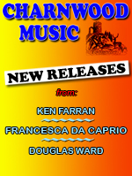 New releases from Ken Ferran, Francesca Da Caprio and Douglas Ward