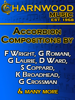 Charnwood Original music compositions, New releases from Ken Ferran, Francesca Da Caprio and Douglas Ward