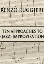 New Friedrich Lips book, 10 Approaches to Improvisation, Book (text) banners,