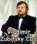 Vladimir Zubitsky CD's