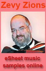 Zevy Zions eSheet music